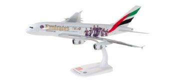 Airbus A380 Emirates Airline Paris St Germains Herpa Model Scale 1:250 611152  E